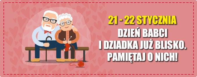 Prezenty na Dzień Babci i Dziadka