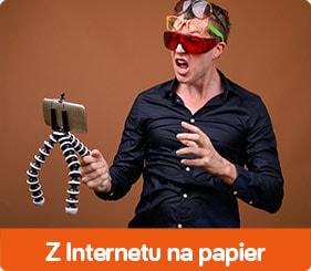 Z Internetu na papier
