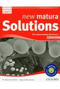 J�zyk angielski LO New Matura Solutions Pre-intermediate Workbook-�wiczenia