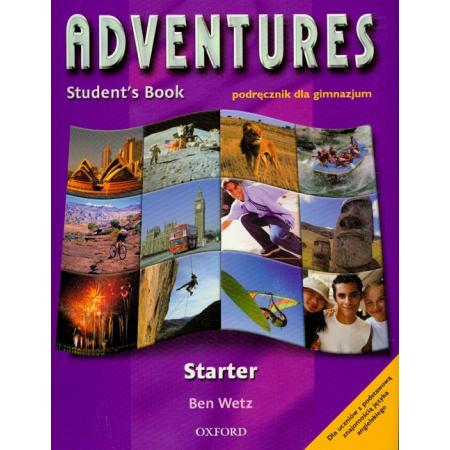 Znalezione obrazy dla zapytania Ben Wetz Adventures Student's Book Starter - podręcznik dla gimnazjum 2009