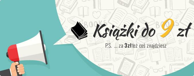 Książki do 9 zł