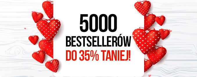 5000 bestsellerów do 35% taniej