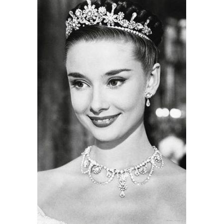 Audrey Hepburn Rzymskie Wakacje Plakat