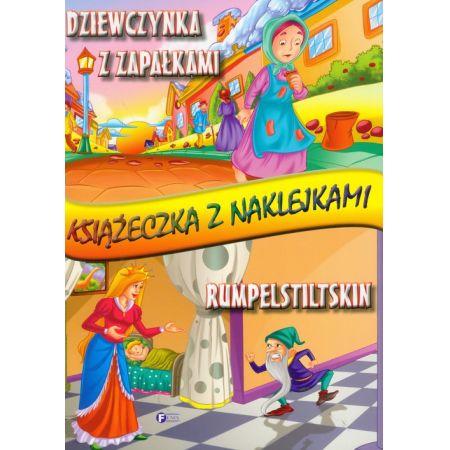 Dziewczynka Z Zapałkami Rumpelstiltskin Książeczka Z Naklejkami