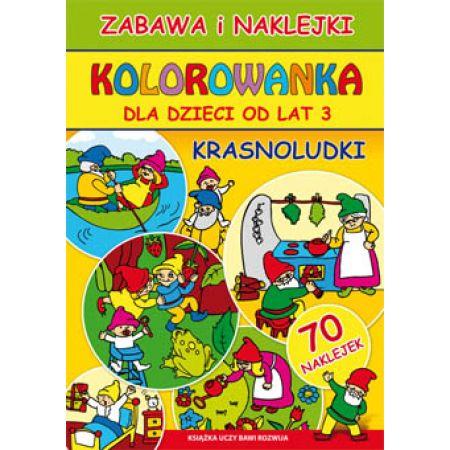 Kolorowanka Dla Dzieci Od Lat 3 Krasnoludki W Taniaksiazka Pl