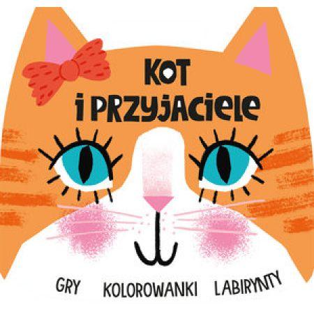 Kot I Przyjaciele Gry Kolorowanki Labirynty Elizabeth Golding