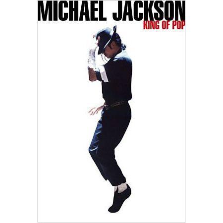 Michael Jackson King Of Pop Plakat