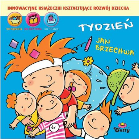 Książeczka Gąbeczka Tydzień Jan Brzechwa