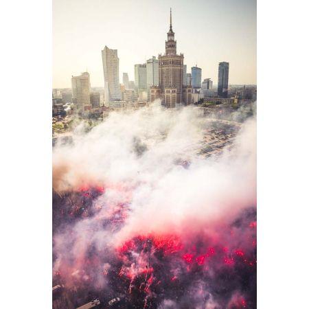 Powstańcza Warszawa Plakat Premium