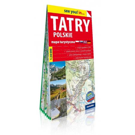 See You In Tatry Polskie 1 30 000 Mapa Tur W Taniaksiazka Pl