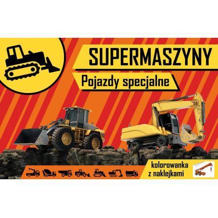 Supermaszyny Pojazdy Specjalne W Taniaksiazka Pl