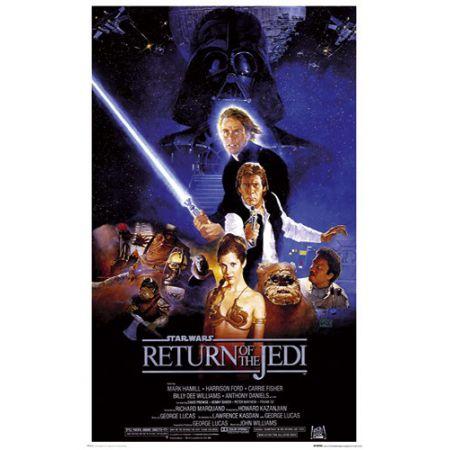 Star Wars Gwiezdne Wojny Powrót Jedi Plakat
