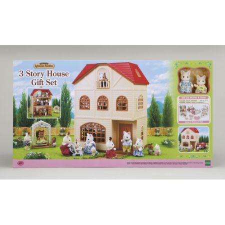 Sylvanian Families Domek Cedrowy 3 Piętrowy