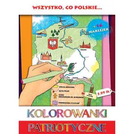 Kolorowanki Patriotyczne Wszystko Co Polskie