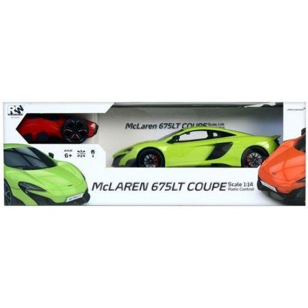 Auto zdalnie sterowane McLaren 675LT Coupe, zielony
