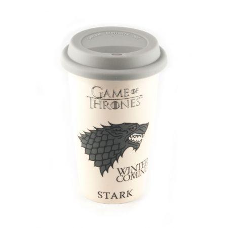 Gra O Tron Stark Winter Is Coming Kubek Podróżny