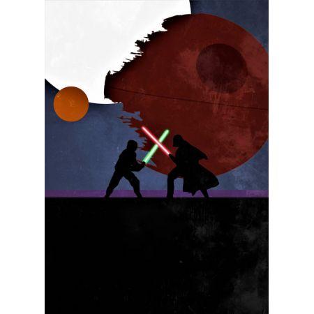Star Wars Gwiezdne Wojny Vintage Poster Plakat