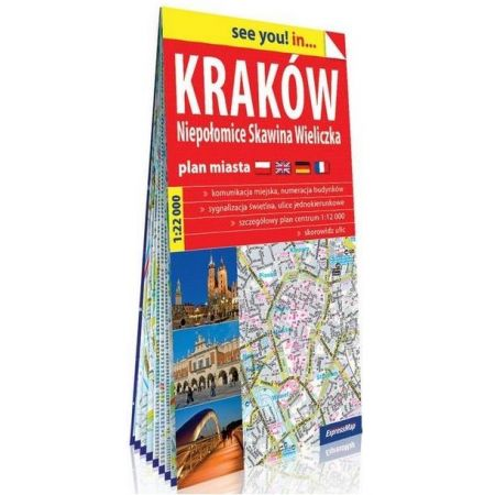 Krakow Niepolomice Skawina Wieliczka Plan Mapa W Taniaksiazka Pl