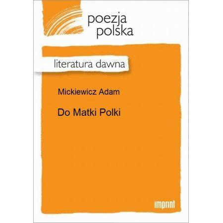 Do Matki Polki