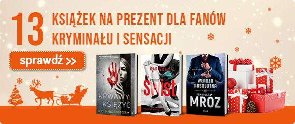 596d4244e57fc0 Najlepsze prezenty na Święta - książki pod choinkę z TaniaKsiazka.pl